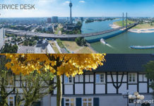 Welcome to the City of Düsseldorf and the County of Mettmann