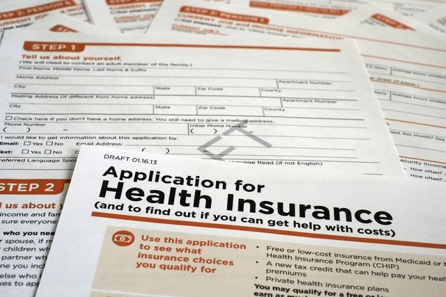 health insurance application in Germany
